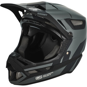 100% Aircraft DH Composite Kask rowerowy, szary/czarny